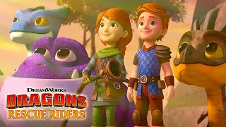 Secrets of the Songwing Trailer   DRAGONS RESCUE RIDERS   NETFLIX