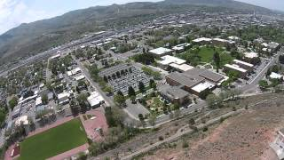 Idaho State University - Aerial by Kantabutra using Phantom 2