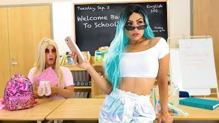 First Day Back To School *NEW HOT GIRL*