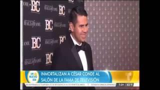 Cesar Conde de TELEMUNDO Al salon de la fama