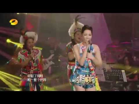 A-Lin - 一想到你呀 + 老人飲酒歌 (TV Live)