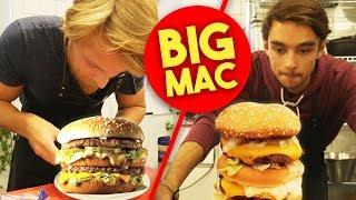 TRYING TO MAKE A BIG MAC AT HOME