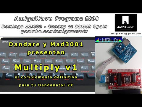 AmigaWave #206 - Dandare y Mad 3001 nos presentan Multiply v1 para Dandanator ZX.