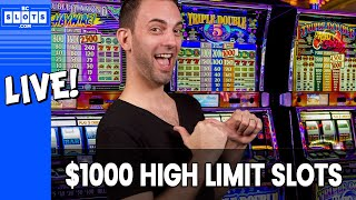 🔴  LIVE 💰 $1000 HIGH LIMIT with Slot Cats ✪ BCSlots