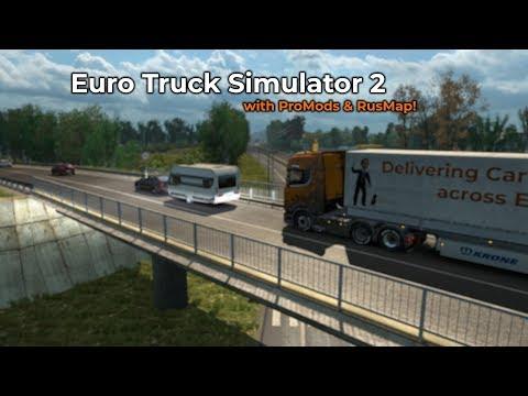 Euro Truck Simulator 2  ProMods  RusMap Livestream 12052018