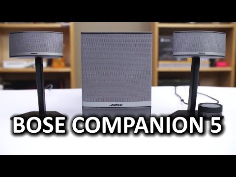 Bose Companion 5 Desktop PC Speakers - Smashpipe Tech