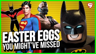 The LEGO Batman Movie - Easter Eggs You Might've Missed