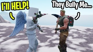 """I met a fan that gets Bullied by his """"Friends"""" on Fortnite... (I helped him)"""