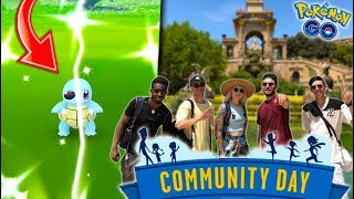 THE POKÉMON EVERYONE HAS BEEN WAITING FOR in Pokémon GO! (Shiny Squirtle Squad Community Day) - YouTube