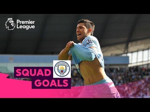 Fabulous Manchester City Goals | Aguero, De Bruyne, Sterling | Squad Goals