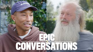 Pharrell and Rick Rubin Have an Epic Conversation | GQ