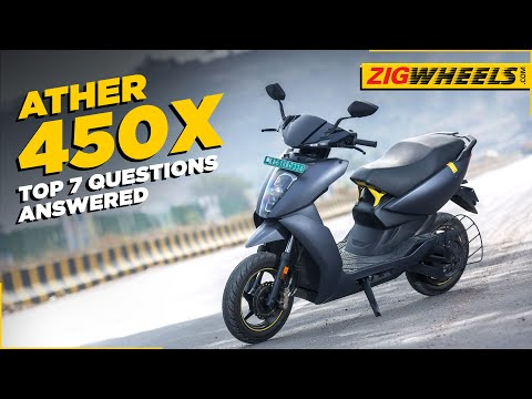 Ather 450X: Top 7 Questions Answered | Battery Replacement | Charging |  Performance BikeDekho.com