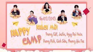 [Vietsub] Happy Camp 16/02/2019 (Trương Kiệt, Justin, Ngụy Đại Huân, Dương Địch, Kinh Siêu)
