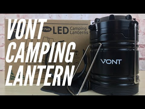 BROKEN! But... | VONT Camping Lantern - Budget-Friendly for Home Power Outages & Family Campjng
