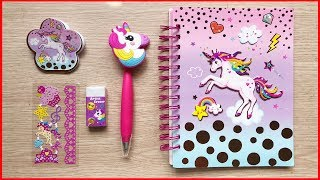 Đồ chơi trẻ em, Hộp dụng cụ học tập hình ngựa kỳ lân UNICORN dễ thương, Toys for kids (Chim Xinh)