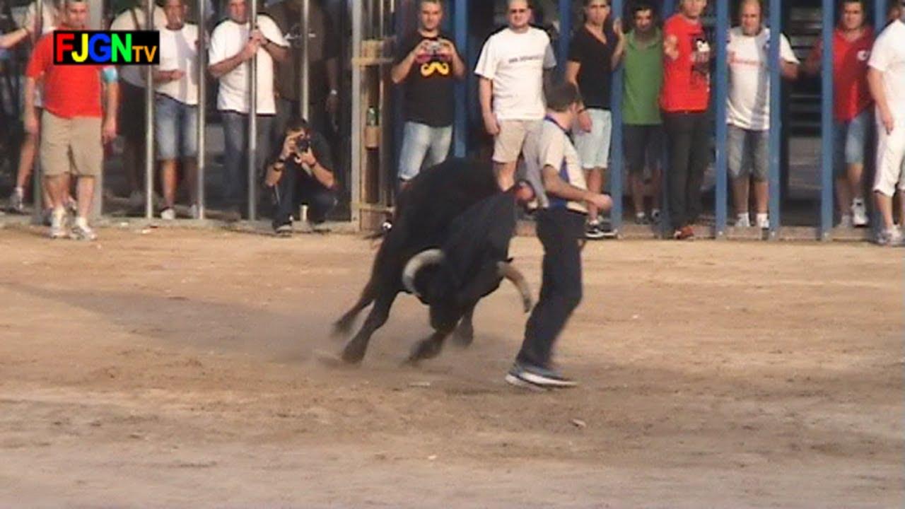 2 Toros Fiestas de Les Alqueries 06/10/2012