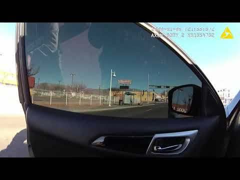 Lapel footage of Jan. 6 police shooting in Northeast Albuquerque
