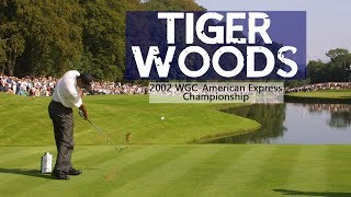 Tiger Woods at the WGC-American Express 2002