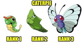 Pokemon - Sâu Nhỏ Caterpie Tiến Hóa Bướm Khổng Lồ - Top Game Hay PC, Android, Ios