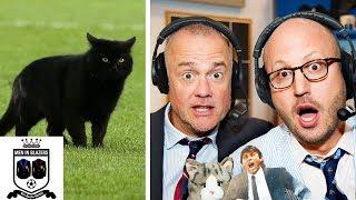 Men in Blazers break down cat pitch invasion during Everton v. Wolves | Premier League | NBC Sports