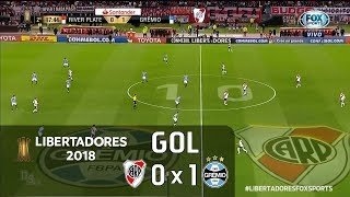River Plate 0 x 1 Grêmio - Semifinal Libertadores 2018 - Fox Sports HD⁶⁰