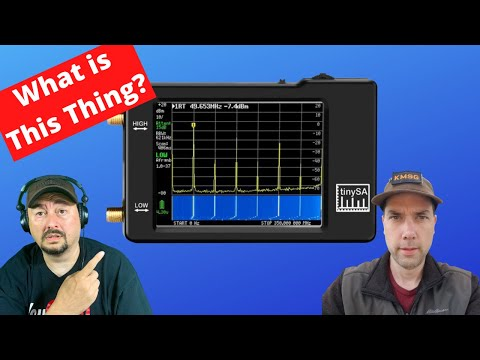 The TinySA for Ham Radio - What is this thing?