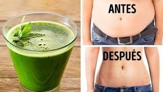 Bebe esto antes de acostarte para reducir la grasa abdominal en un abrir y cerrar de ojos