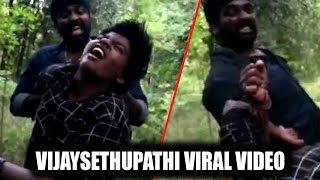 VIRAL VIDEO- Vijay Sethupathi and his son fights on the se..