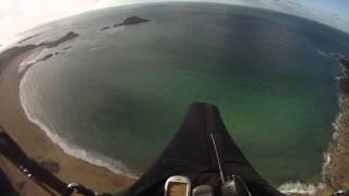 Parapente en bord de mer