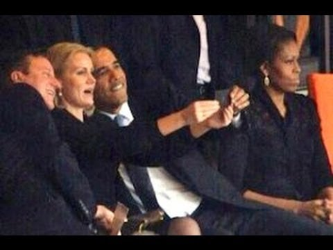 Obama Selfie Controversy (Update - Photographer Speaks Out About Michelle) - Smashpipe News