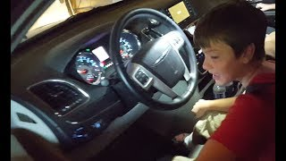 Kid Steals Van To Go Buy A Fidget Spinner At Toys R Us *SKIT*
