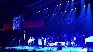 "Foreigner (Current & Original Lineup) ""I Want To Know What Love Is"" & ""Hot Blooded"""