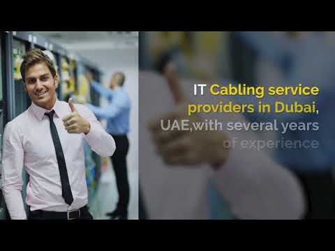 Fiber Optic Cabling Services in Dubai - Best Cabling Installation Dubai,UAE