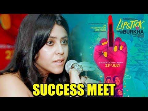 Ekta Kapoor shares the reactions she got for 'Lipstick Under My Burkha'!
