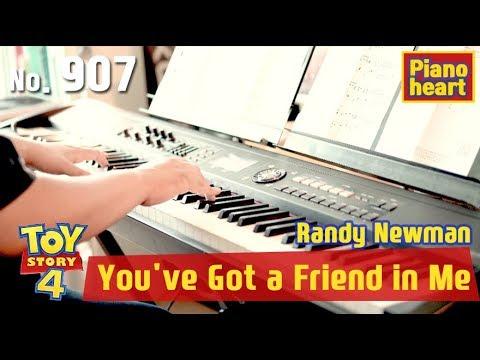 토이스토리 ost, You've Got a Friend in Me 피아노 악보와 연주
