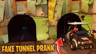 FAKE TUNNEL PRANK Fortnite Funny Fails and WTF Moments! #10