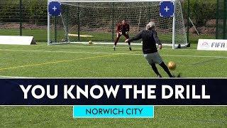 Jimmy Bullard pulls off INSANE lob 😱 🔥| Norwich City | You Know The FIFA Drill