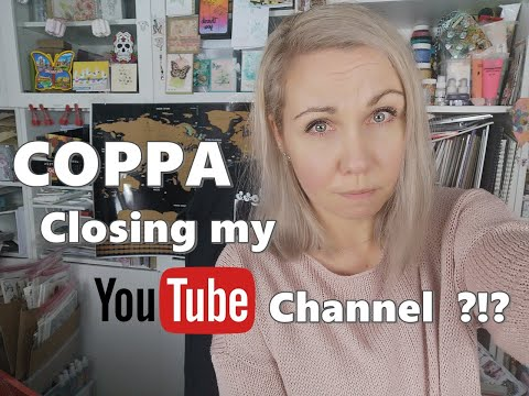 Future of my craft channel COPPA & New YouTube policy for 2020 ♡ Maremi's Small Art ♡