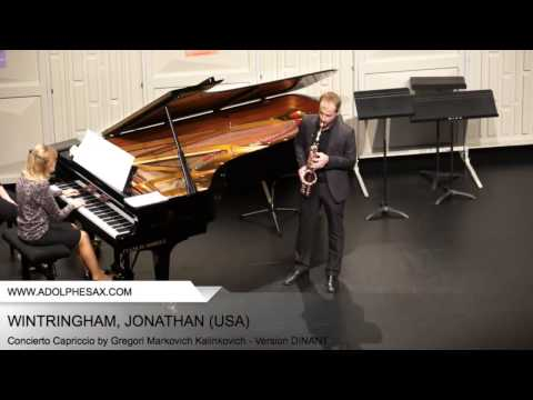 WINTRINGHAM Jonathan (Concierto Capriccio by Gregori Markovich Kalinkovich - Version DINANT)