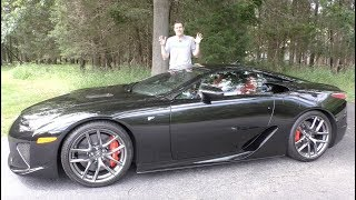 The Lexus LFA Is the $400,000 Supercar Nobody Talks About