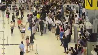 [Fancam] 140726 Yoona @ BKK Airport Back to Korea by KaTae #PPTVYoona #YoonaDay
