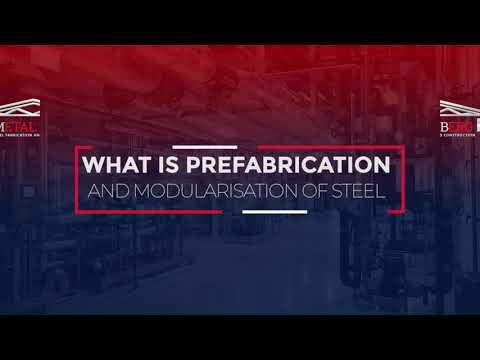 Prefabrication & Modularization Advantages- Metalberg Manufacturing- Kassem Ajami