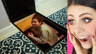 MIND BLOWING Hidden Rooms and Secret Furniture! Part 3