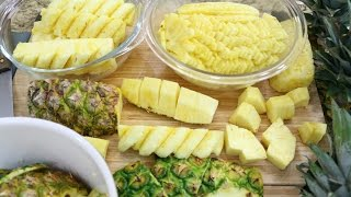 How to Cut a Pineapple (4 Ways) - Episode 158