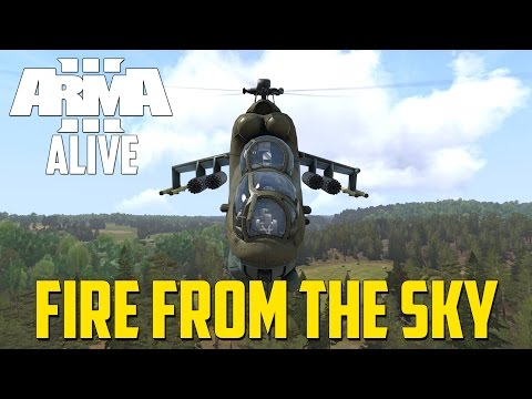 ARMA 3 ALIVE - Fire From The Sky