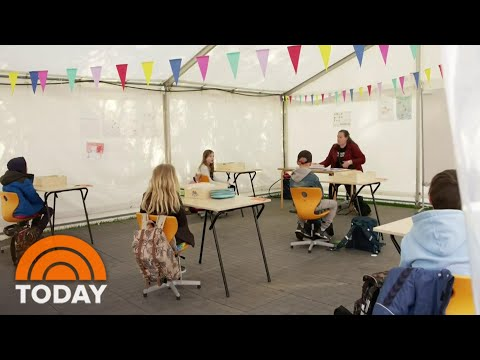 Could The Way Schools Are Reopening In Denmark Be A Model For The US? | TODAY