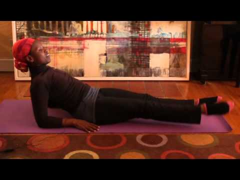 Workout at home with Kenya Moses: ABC Legs