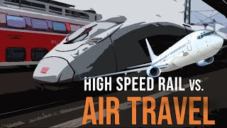 Why Isn't High-Speed Rail Replacing Air Travel? | Elephant Explains