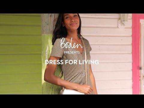 boden.co.uk & Boden Promo Code video: Boden SS19 Lookbook: Dress for living | Swimwear and dresses