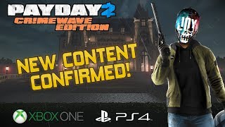 Payday 2 NEW CONSOLE INFO   Joy CONFIRMED, Matchmaking, Release Date Updated!